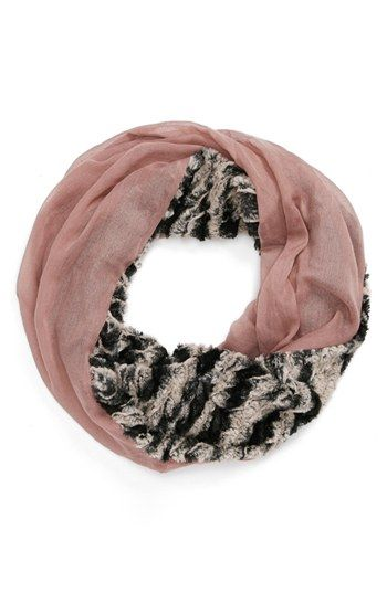 Lulu Faux Fur Eternity Scarf (Juniors) available at #Nordstrom