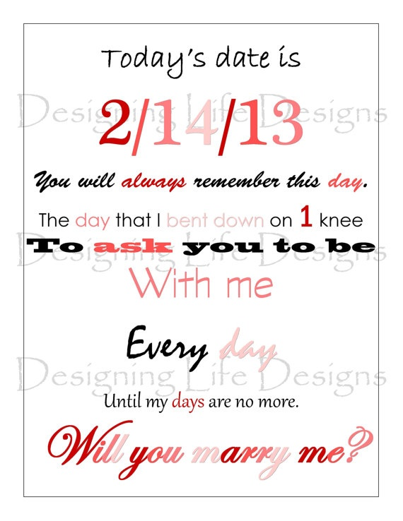Personalized Poetry for Proposals, Weddings, Birthdays, or Anniversaries