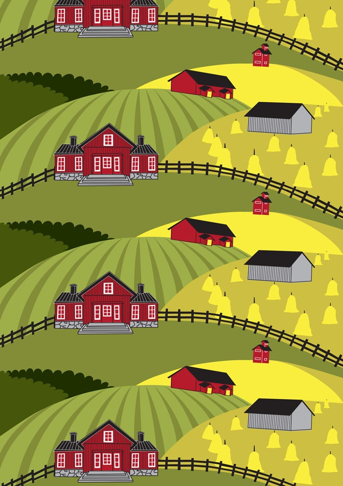 Farmi green by Elizabeth Salonen