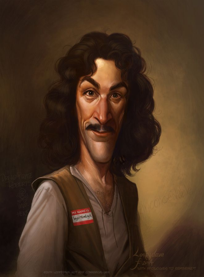 Inigo Montoya by Rembrandt by Loopydave ★ Find more at http://www.pinterest.com/competing/