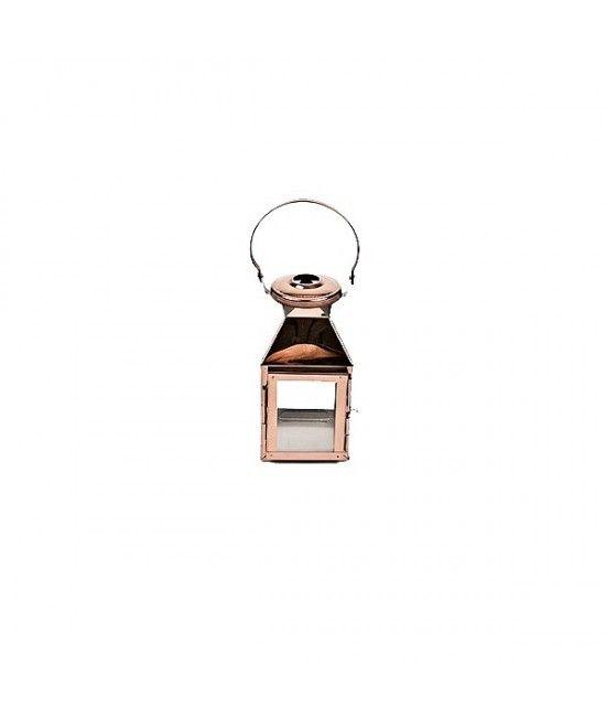 Suport pentru #lumanare realizat din metal, culoare rose bronz, cu design elegant. #cadou #decoratiune #casa