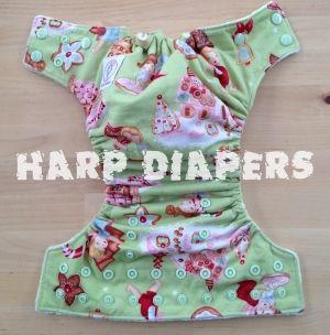 Gingerbread house Ai2 Cloth Diaper