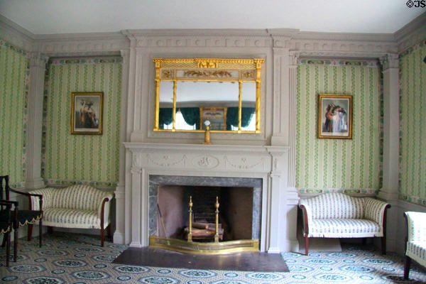 Parlor of Peirce-Nichols House. Salem, MA. | NORTHERN ANTEBELLUM ...