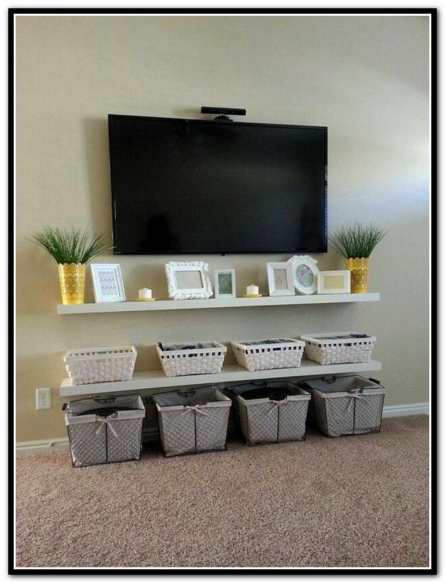 Wall mounted tv ideas best 25 hide tv cables ideas on pinterest hide tv cords tv extraordinary - Inspiration wall mounted tv cabinet ...