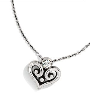 269 best brighton jewelryshoespurses a must images on pinterest alcazar heart necklace my first piece of brighton jewelry mozeypictures Images