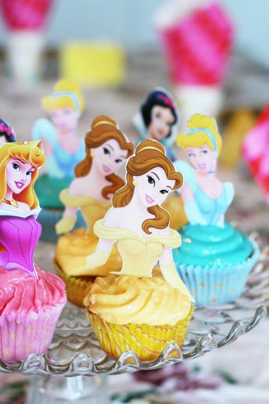 Muffins till Prinsesskalas
