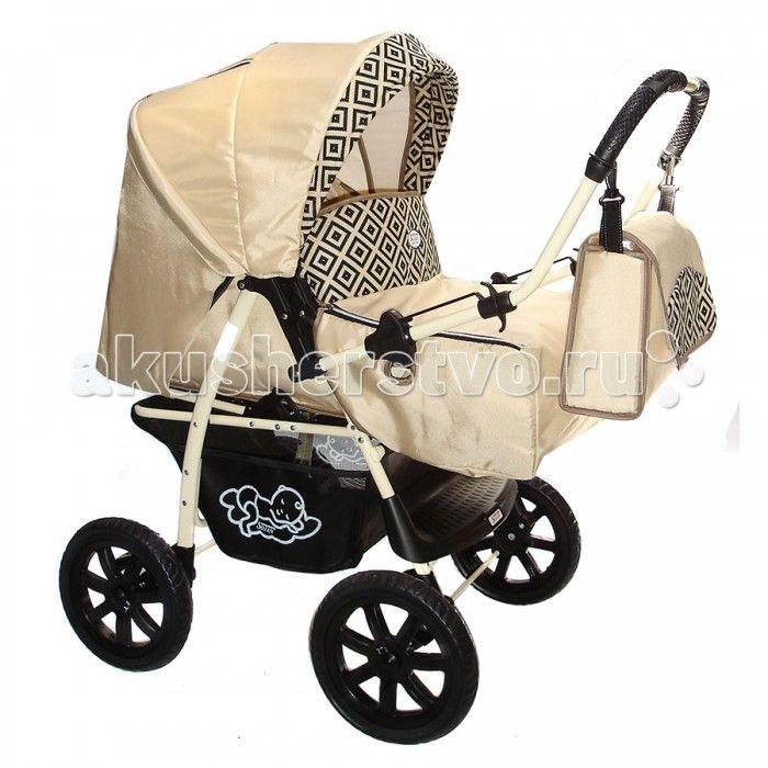 """Коляска-трансформер SoJan Economy  Детская коляска-трансформер SoJan Economy - комфорт с первых дней. Модель предназначена для детей с 0 месяцев и до 3-х лет. Эта модель имеет современный роскошный дизайн, спокойную цветовую гамму и легко собирается. Большие шасси позволяют ей быстро и беспрепятственно передвигаться.  Характеристики: Колеса пластиковые Перекидная ручка Люлька-переноска с капором Чехол для ножек Регулировка амортизатора """"мягкий-жесткий"""" Регулировка подножки 3 положения…"""