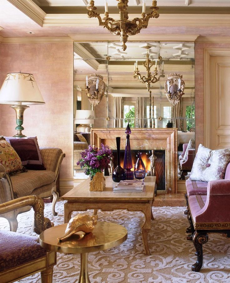 A Fireplace Is The Focal Point In Many Rooms. If You Wrap A Fireplace  Surround In Mirror, The Rest Of The Space Can Shine In Its Reflection.