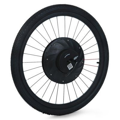 YUNZHILUN iMortor  - $249.99 (coupon: 11nov204)  26 inch Smart Electric Front Bicycle Wheel - BLACK  #YUNZHILUN, #Electric, #Bicycle, #Wheel, #gearbest, #электровелосипед   2574