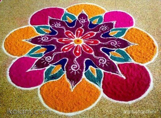 Diwali Rangoli Designs Images Wallpapers- Latest Beautiful, images pics… 746e513a5ce4b8ccf72c3369bcd1a80c  flower rangoli puja room