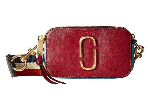 Marc Jacobs Snapshot Color Block Saffiano Small Camera Bag