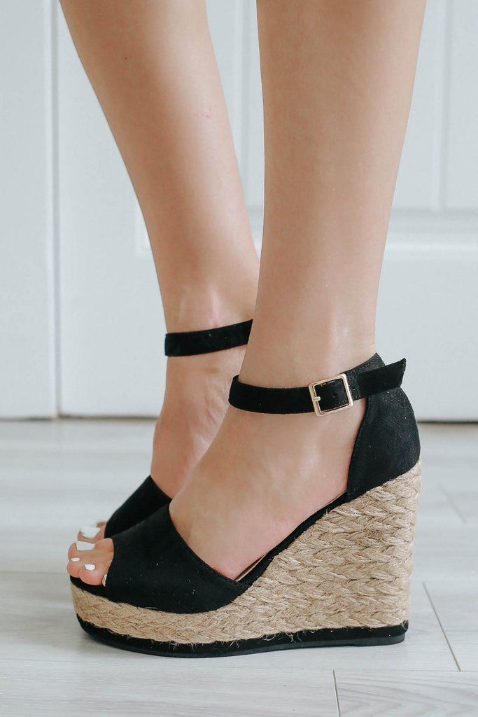 14ce1a2eee774 Danette-01 Espadrille Wedges - UOIOnline.com