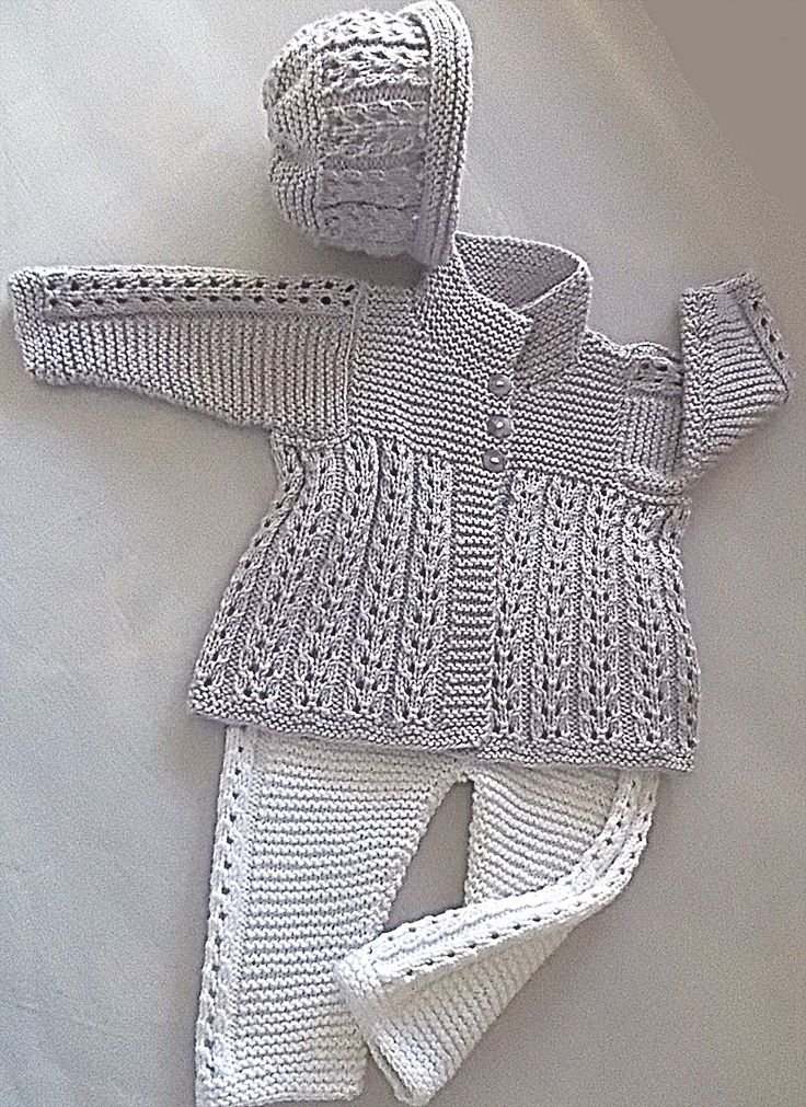 Ravelry: Quick knit baby jacket, pants and matching hat P047 by OGE Knitwear Designs