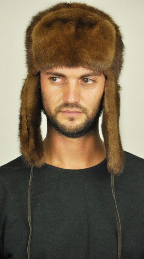 Cappello uomo visone, stile russo. http://www.amifur.com