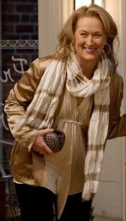 "Meryl Streep - Casual date night from ""It's Complicated."""