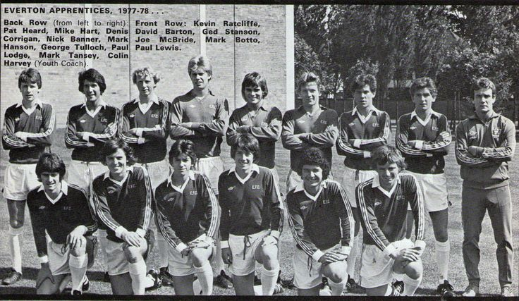 Everton Youth 1977-78