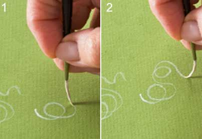 Learn how to paint with these six basic decorative painting brushstrokes with Priscilla Hauser - step by step instructions #diy #plaidcrafts