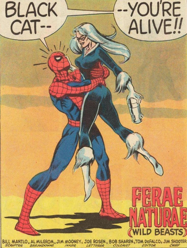 "The Black Cat returns in Spectacular Spider-Man's ""Owl/Octopus Wars"" arc"