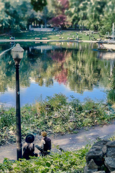 Mount Royal Park Beaver Lake Montreal