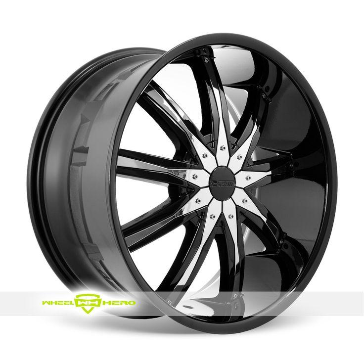 Dcenti DW29 Black Wheels For Sale - For more info: http://www.wheelhero.com/customwheels/Dcenti/DW29-Black
