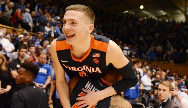 Kyle Guy scored 17 points in Virginia's huge ACC win over Duke. Virginia's 1st win in Cameron in 23 years.