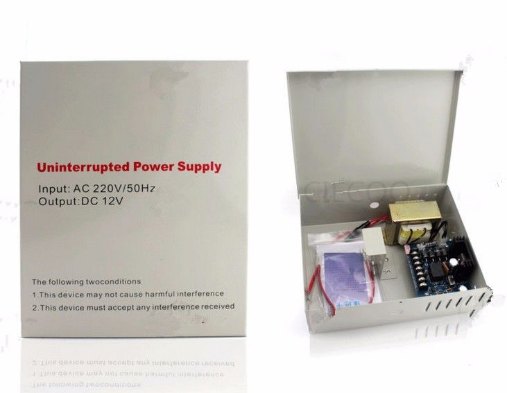 59.00$  Watch more here  - 110V AC input  12V 5A  supply power for Access Control  UPS Power Supply backup battery