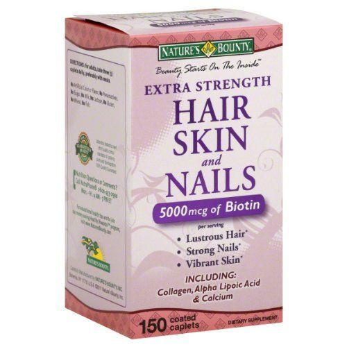 Extra Strength Hair Skin Nails, I swear by this.  Last year I cut my hair off for Locks of Love (8/11) and now (8/12) I can put my hair in a long ponytail!  I have convinced many people to use this product...even my grandma!  I love it and use it everyday!  You can get this at most drug stores but also on Amazon.