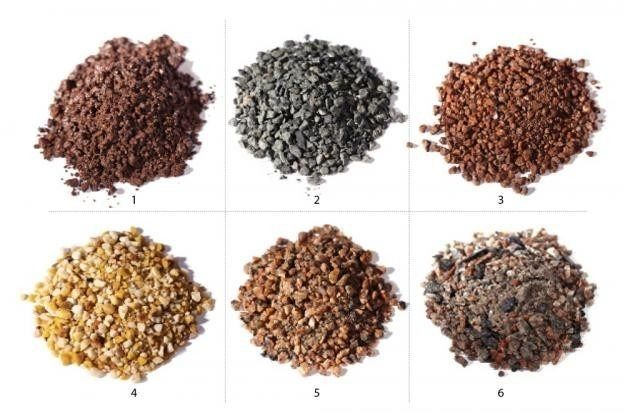 Decomposed Granite comes in many colors and can be used to enhanced drought tolerant landscape.