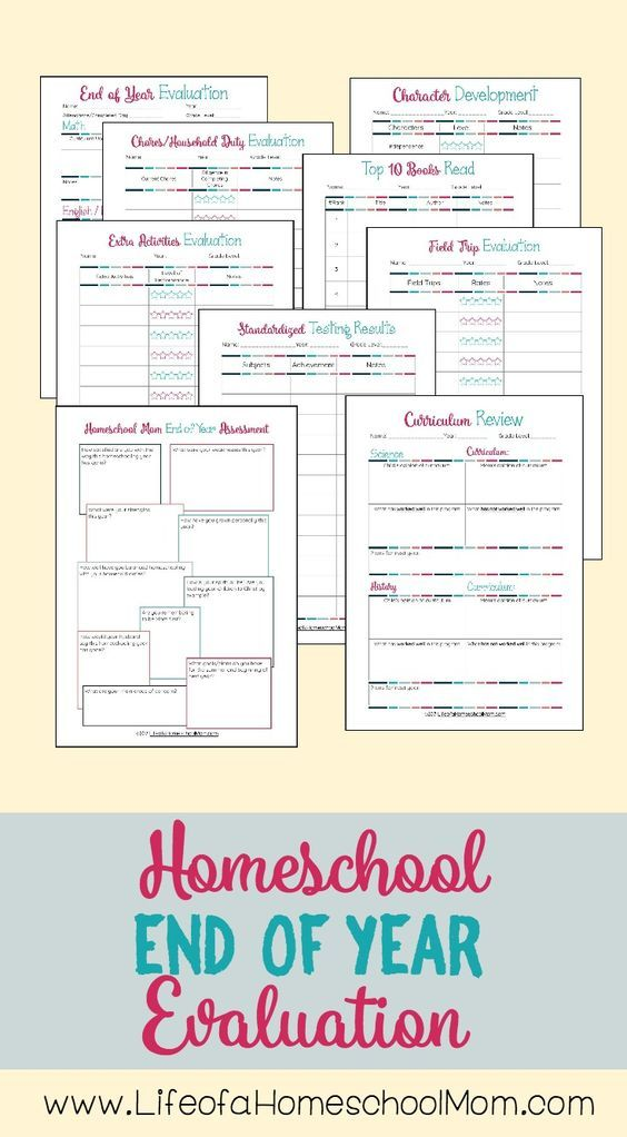 This End of Homeschool Year Evaluation Pack helps you to perform an end of homeschool year assessment. Includes 17 pages to evaluate the following areas: academics, character development, reading logs, field trip evaluations, extracurricular activities, curriculum evaluation, a special assessment form for homeschooling moms to reflect on their own stregnths/weaknesses, and more! FREE through 5/30/17! Get your copy now!