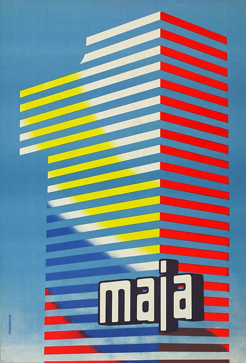 Polish poster by Cialowicz (1975)