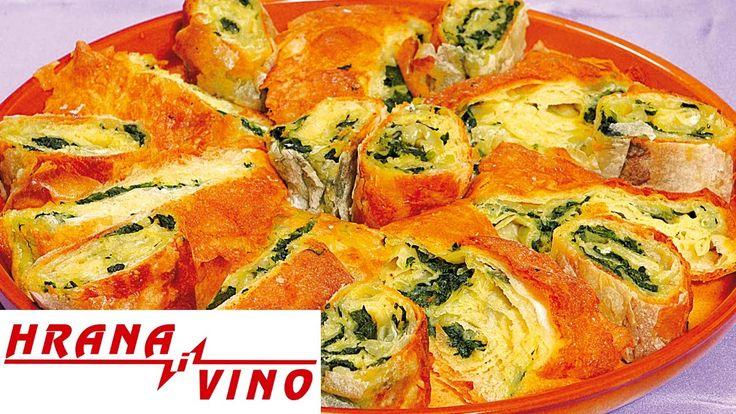 Pita sa jajima i spanaćem | Hrana i Vino