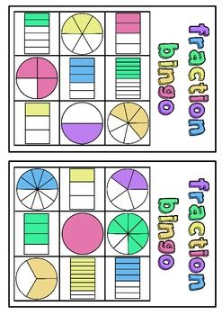 Fraction Fun Pack - Games & Activities (Fractions of a whole to tenths)