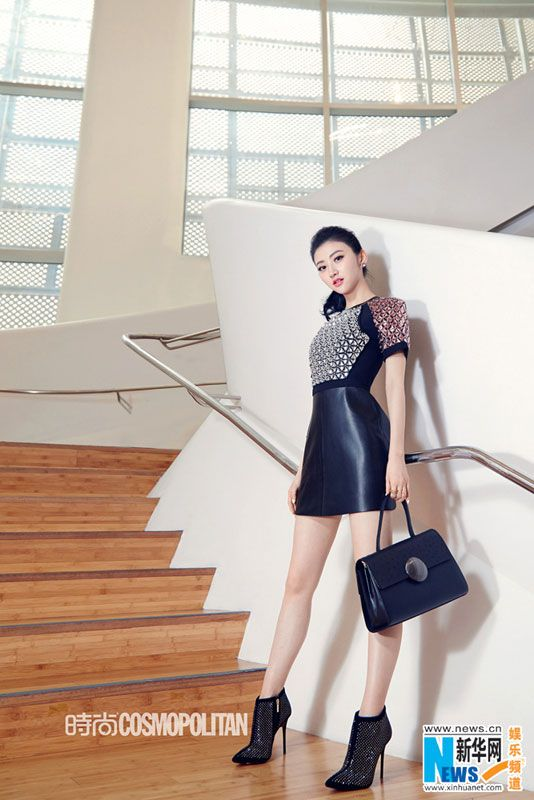 Chinese actress Jing Tian