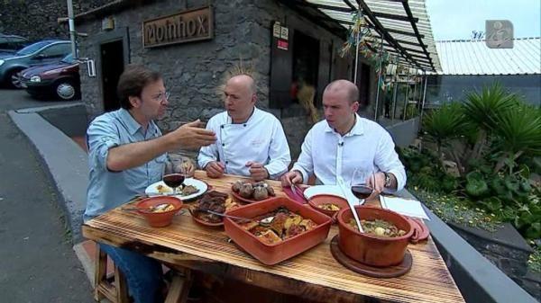 Mesa Nacional: Restaurante Moinho: á chegou ao Funchal a Mesa Nacional, o roteiro da TVI pelos mais inesperados restaurantes de Portugal. E para desmentir a ideia de que a madeira é só peixe-espada e espetadas, apresenta-se um prato de bacalhau e uma sopa de trigo
