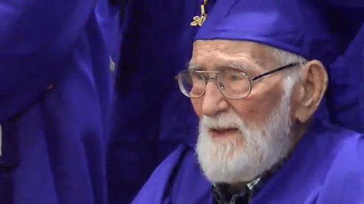 For 101-year-old John Motes, graduating high school was 84 years in the making.