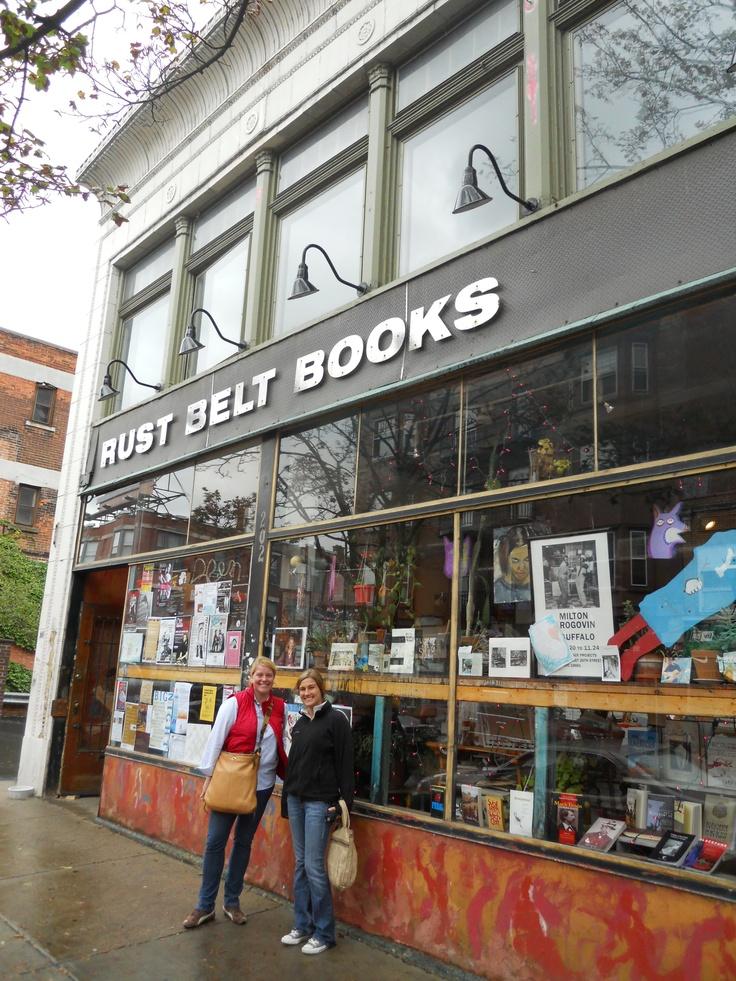 Rust Belt Bookstore, Buffalo, NY