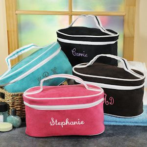 Personalized Train Travel Case (4 Colors) from Wedding Favors Unlimited $20