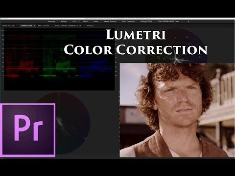 HOW TO - Color Correction & Grading with the Lumetri Color Panel in Premiere Pro CC 2015 - YouTube