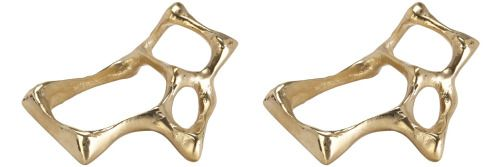 9.Bone Napkin Rings in Brass, $ from Simon James Concept.