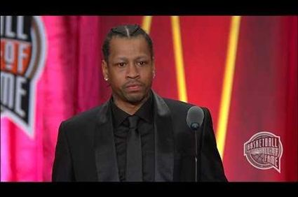 #The Answer So worth watching!! Allen Iverson's Basketball Hall of Fame Enshrinement Speech