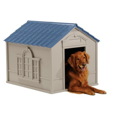 suncast deluxe dog house dh350 gray products dog houses dogs rh pinterest com