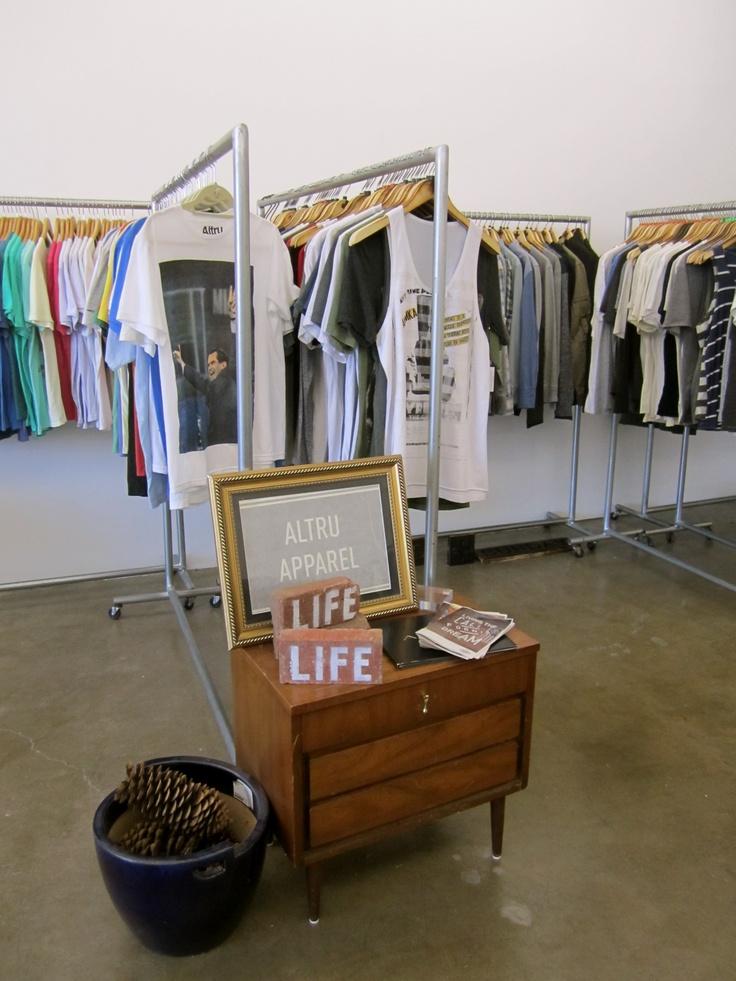 proper fools showroom, downtown LA #men #clothes #apparel #style