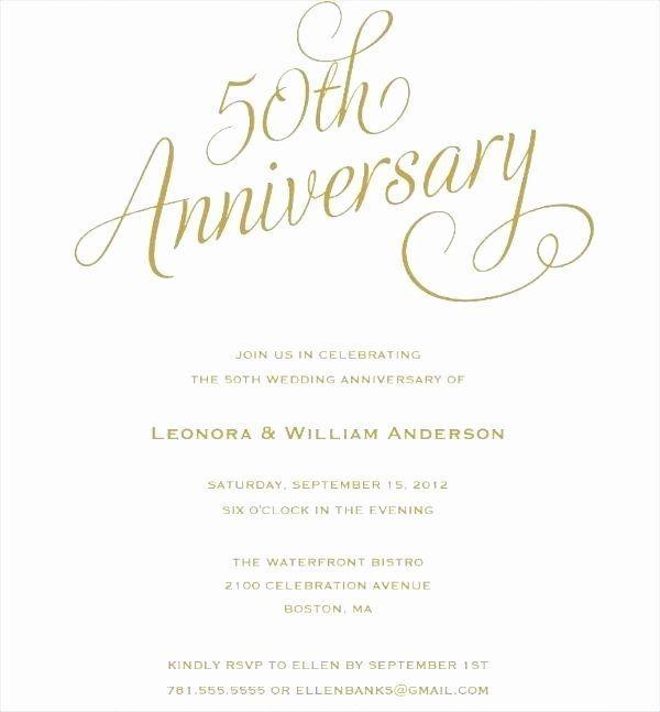 wedding anniversary invite template