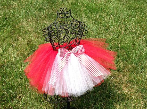 Little Red Riding Hood tutu Little Red Riding by TheSugaredRibbon