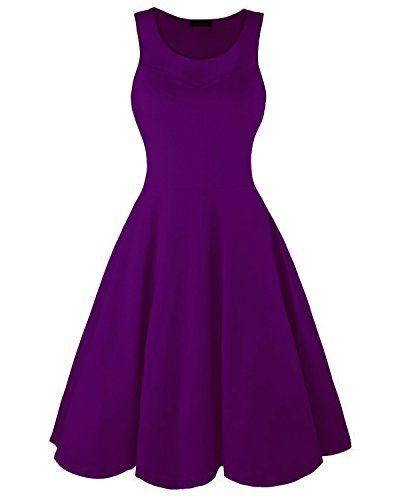 749bfdb93f made2envy Womens Net Patchwork Sleeveless Casual Cotton Dress