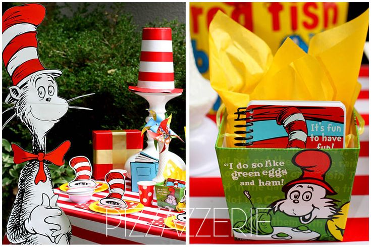 Dr. Seuss Birthday Party on a Budget! on pizzazzerie.com