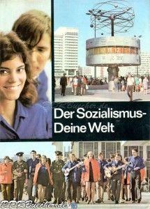 Der Sozialismus - Deine Welt - Jugendweihebuch Ausgabe 1975