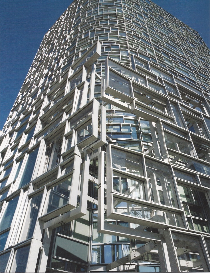 The new Jean Nouvel residential tower, Chelsea, NYC.