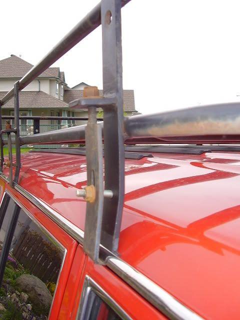 roof rack gutter mount adapters