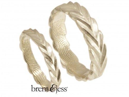Awesome The best Fingerprint wedding bands ideas on Pinterest Fingerprint ink Finger meaning and Wedding ring
